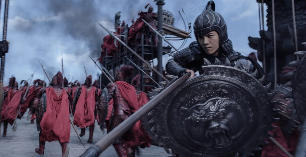 [FilmRecensiesTV] ACTIE The Great Wall (2017) – 'Monsters en een muur': 6,5 + TRAILER